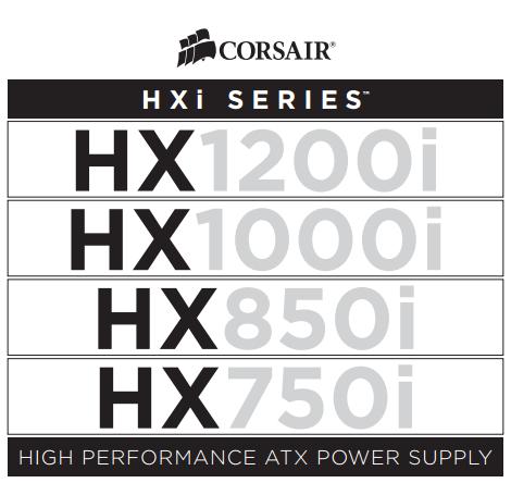 Corsair HXi PSU Series