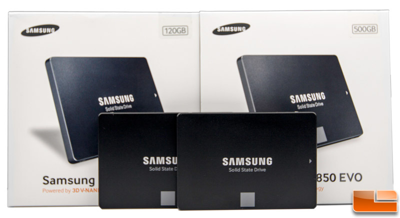 Samsung 850 EVO Series SSD Review - 120GB and 500GB - Legit