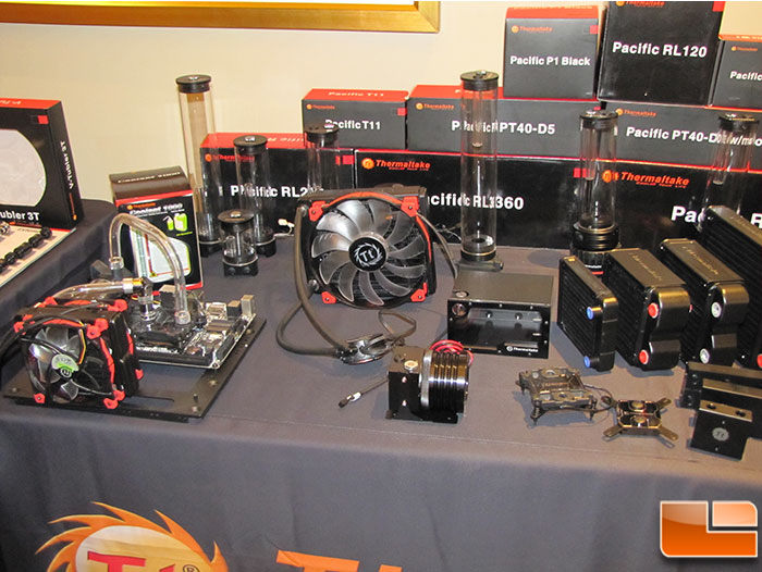 Thermaltake DIY Water Cooling Parts Now Available at Newegg
