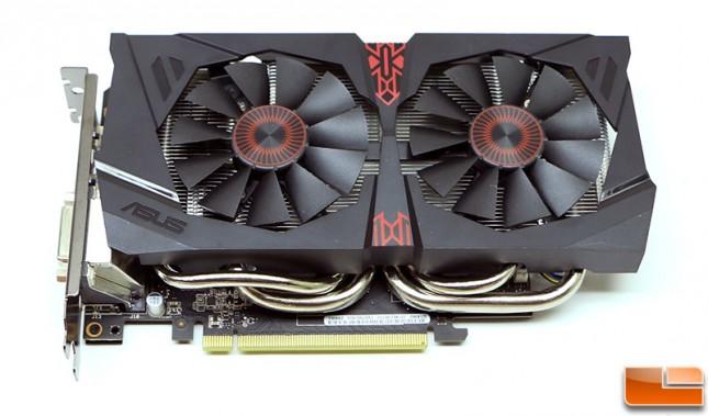 ASUS GeForce GTX 960 Strix Video Card
