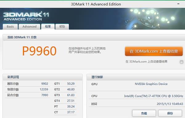 GeForce GTX 960 3DMark