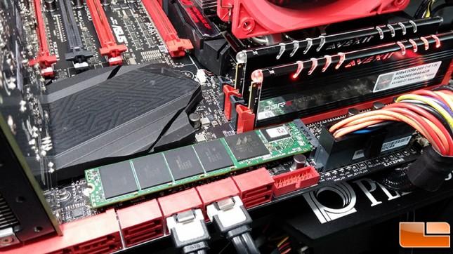 Plextor M7e M.2 PCIe SSD
