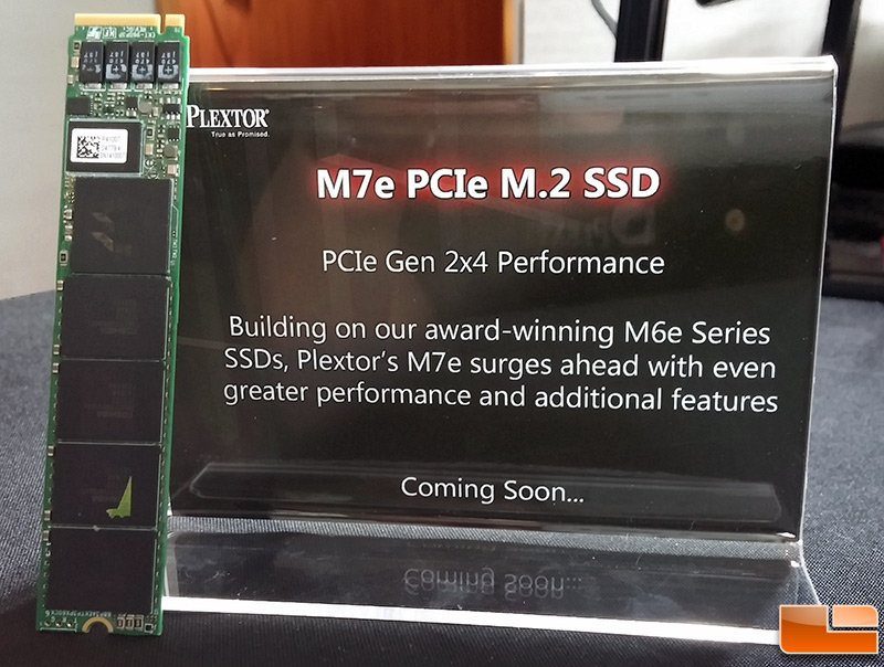 Plextor M7e M 2 PCIe SSD Performance Numbers From CES 2015