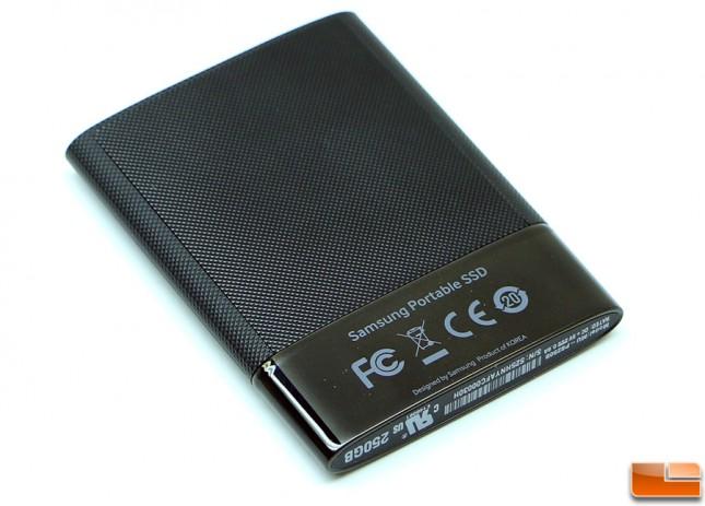 Samsung Portable SSD T1 Back