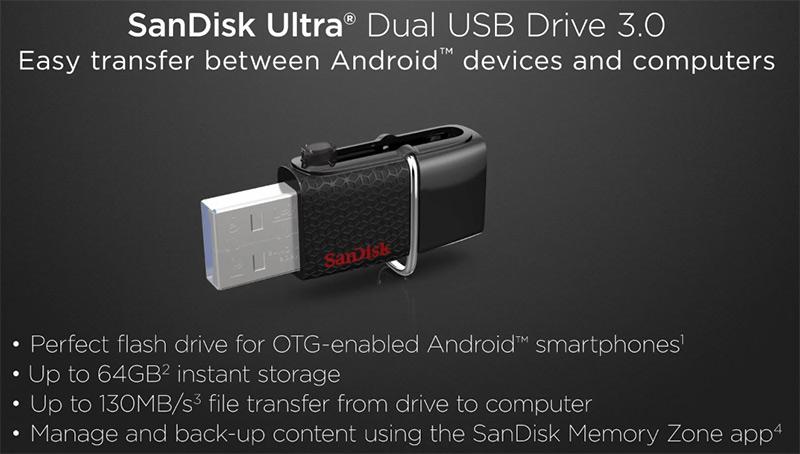 Image result for SanDisk Ultra Dual m3.0 16GB 32GB OTG USB 3.0 Flash Drive