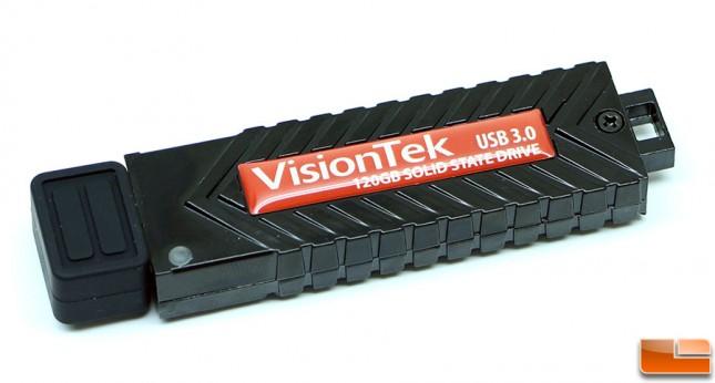 VisionTek USB 3.0 Pocket SSD 120GB