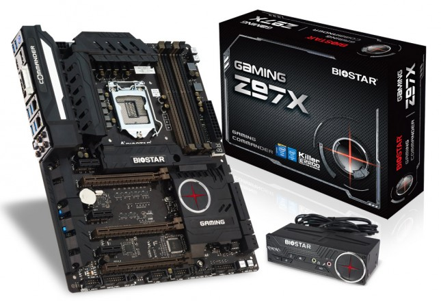 BIOSTAR Gaming Z97X Motherboard