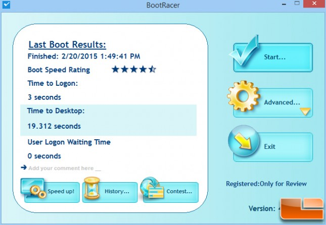 Crucial MX200 1TB Bootracer