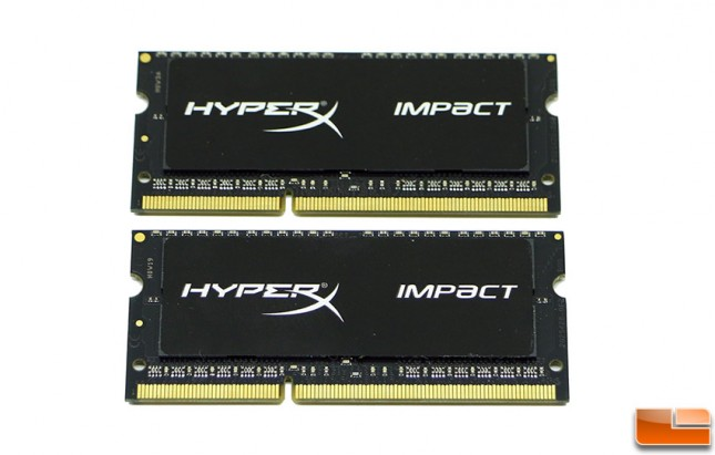HyperX Impact Black Series 1866MHz