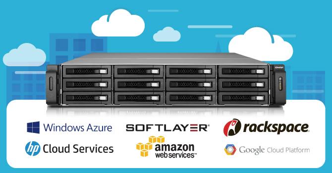 QNAP Adds Amazon S3, Glacier, RackSpace, HP Cloud and More