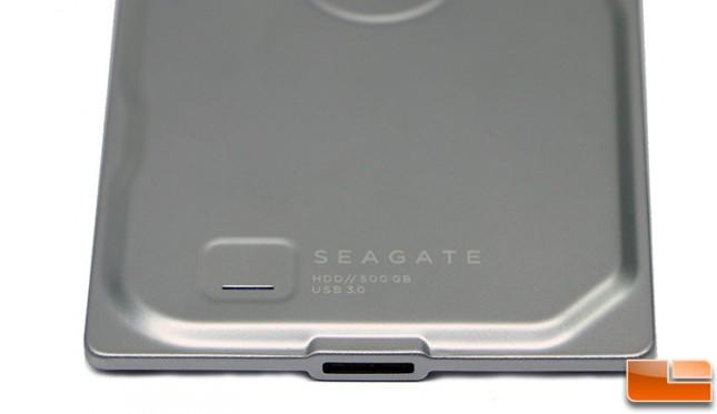 Seagate Seven USB 3.0 Port