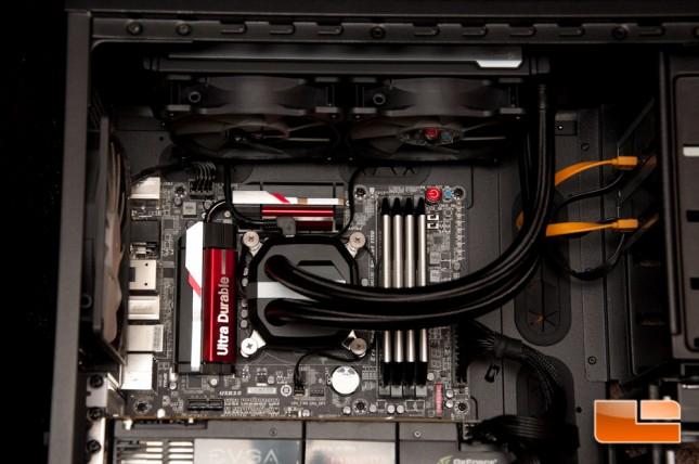 Corsair H100i GTX Pump Installed