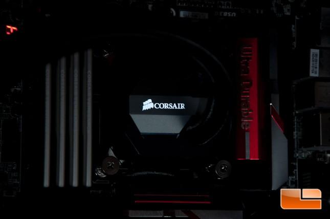 Corsair H100i GTX LED