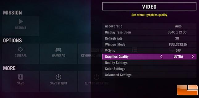 FarCry4 settings