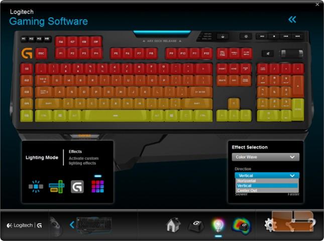 Logitech G910 Orion Spark Logitech Game Software