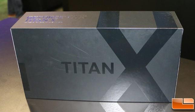 TITAN X Video Card Box