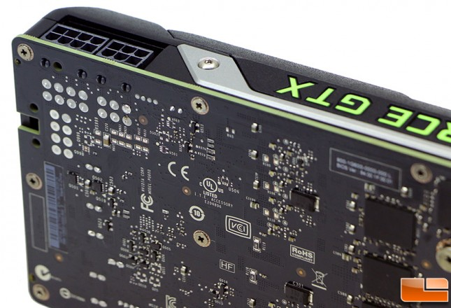 NVIDIA GeForce GTX Titan X Power Connectors