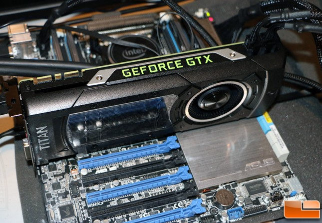 GeForce GTX Titan X Test System