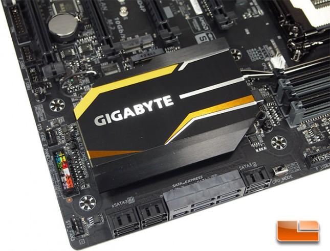 GIGABYTE X99-UD4P SATA Ports