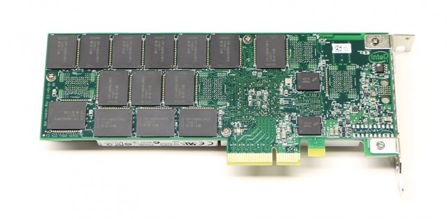 Intel SSD 750 NVMe PCIe SSD Back