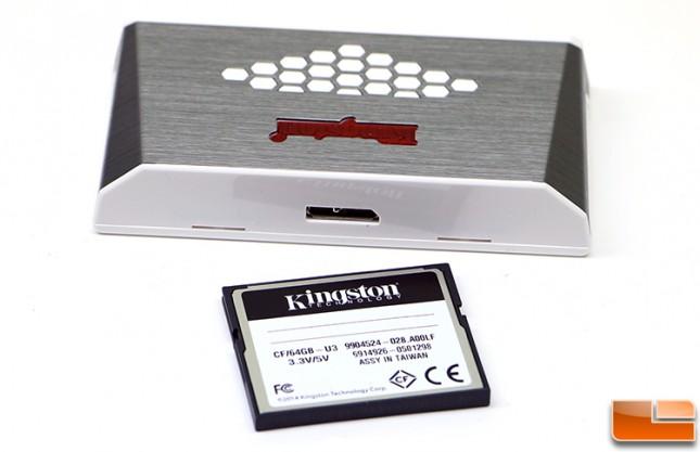 Kingston CompactFlash Card and Memory Card Reader