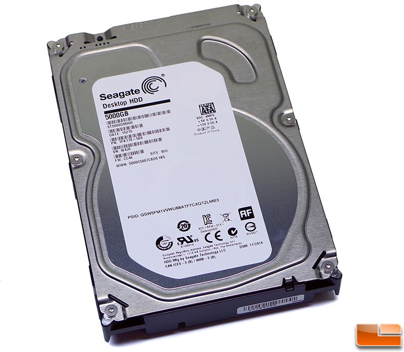 Seagate Barracuda ST5000DM000 5TB Desktop Hard Drive Review - Legit Reviews