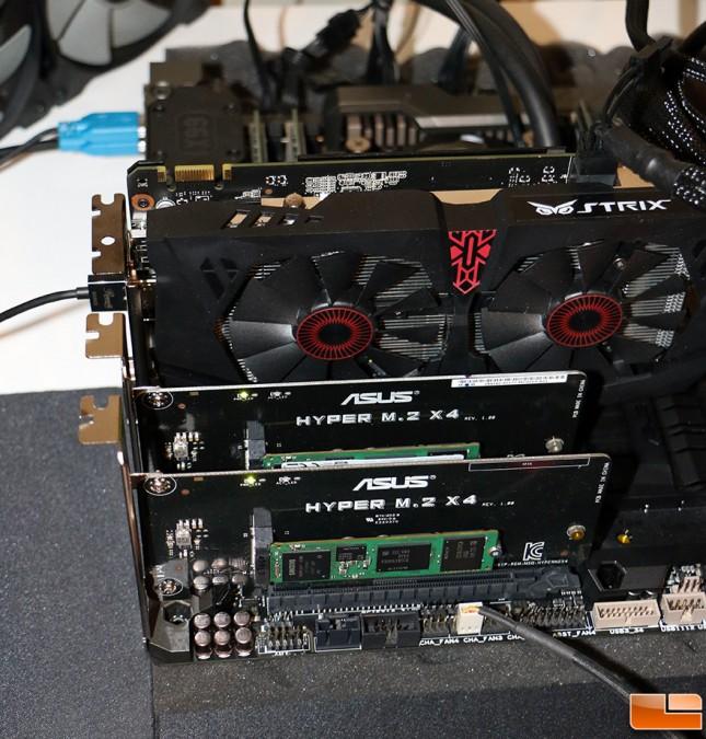 Samsung SM951 RAID 0