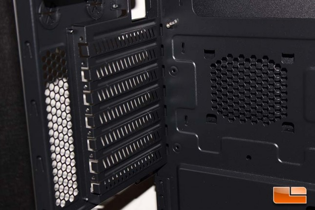 Zalman Z11 Neo PCI-E cover area
