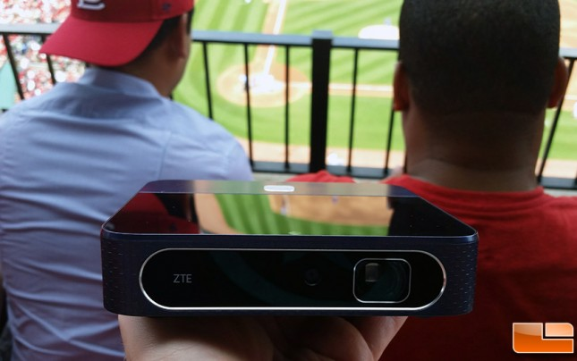ZTE Spro 2 Smart Projector and Hotspot from AT&T
