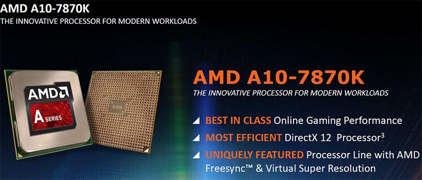 AMD A10-7870K APU Announced For $137 - Godavari or Kaveri