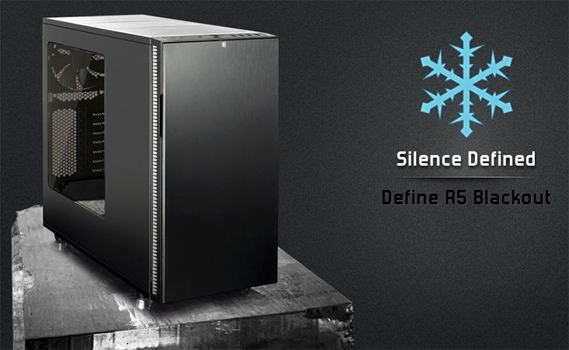 Fractal Define R5 Blackout Edition Case Now Available