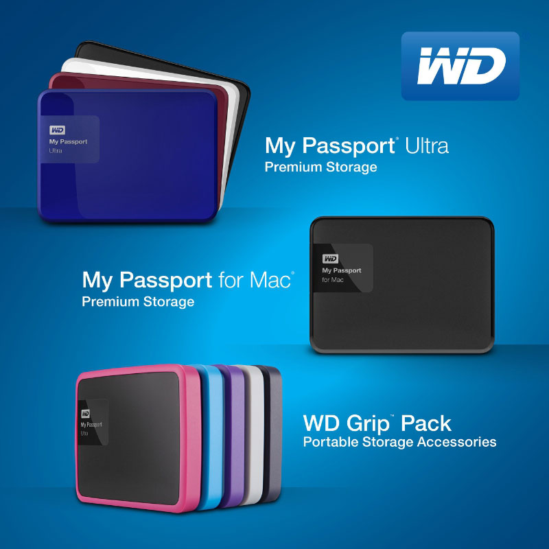 WD Redesigns My Passport Ultra Drives - New 3TB Capacity