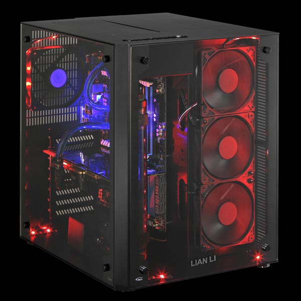 Lian Li Launches Pc 08 Dual Compartment Chassistwo