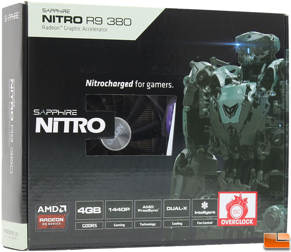 Sapphire Nitro R9 380 and 390 Video Card ReviewSapphire