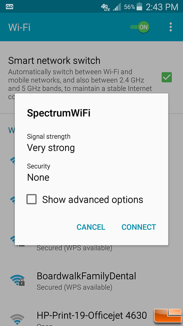 Free Charter Spectrum WiFi Internet Hotspot Speed Tested in St