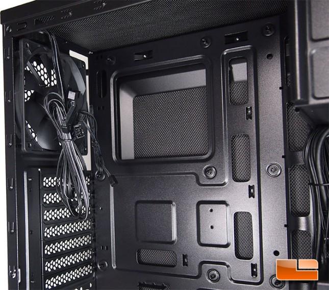 Corsair Carbide 100R Silent Edition CPU Cutout