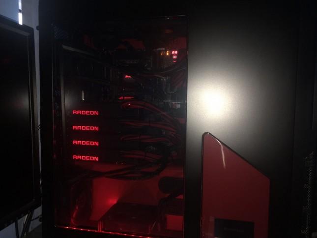 AMD Radeon R9 furyx crossfire x4