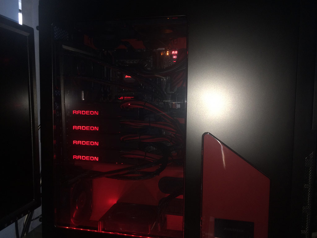 AMD Radeon R9 Fury X 4-Way CrossFire Setup Benchmarked