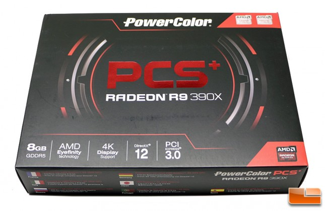 PowerColor PCS+ AXR9 390X 8G