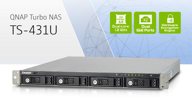 QNAP Turbo NAS TS-431U 4-Bay Rackmount NAS Announced - Legit