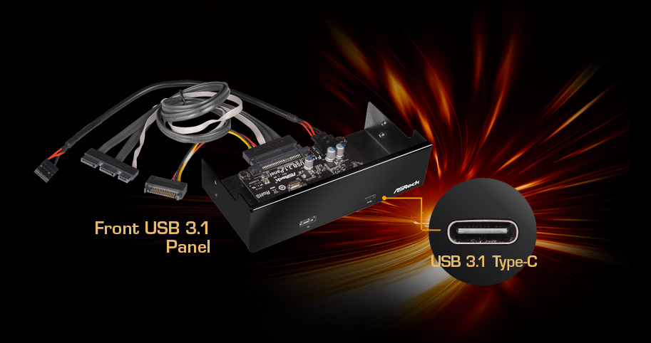 ASRock Uses SATA Express Port To Create Front USB 3 1 Panel