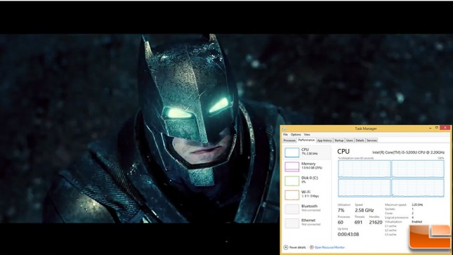 Gigabyte-Brix-BXi5H-Benchmarks-YouTube-1080p-Streaming