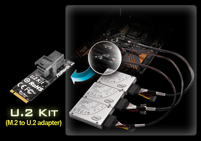 Intel Z170 Board with Three Intel 750 SSDs Equals Ludicrous