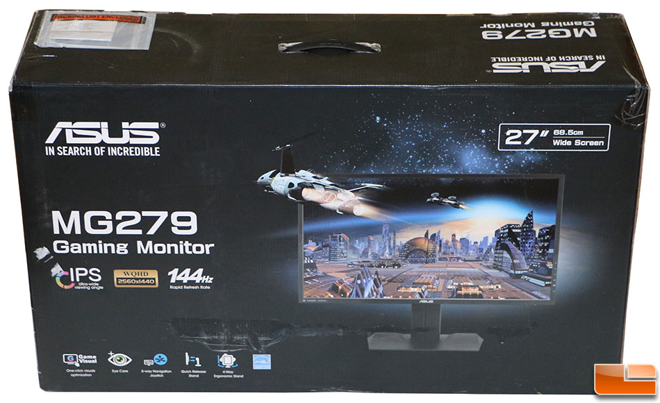 Asus Mg279q 27 Inch Ips Freesync Gaming Monitor Review