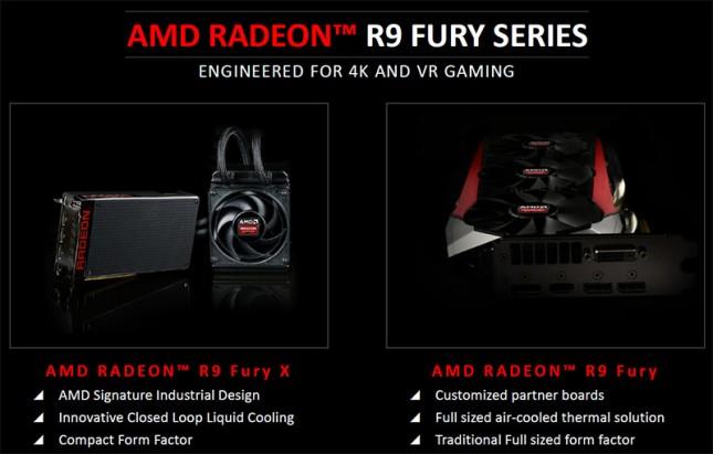 AMD Radeon R9 Fury Series Cards