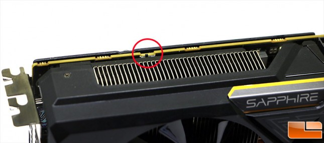 Sapphire Fury BIOS Toggle Switch