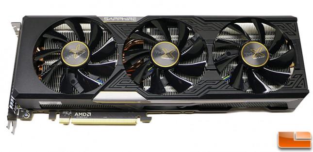 Sapphire Tri-X Radeon R9 Fury Video Card Front