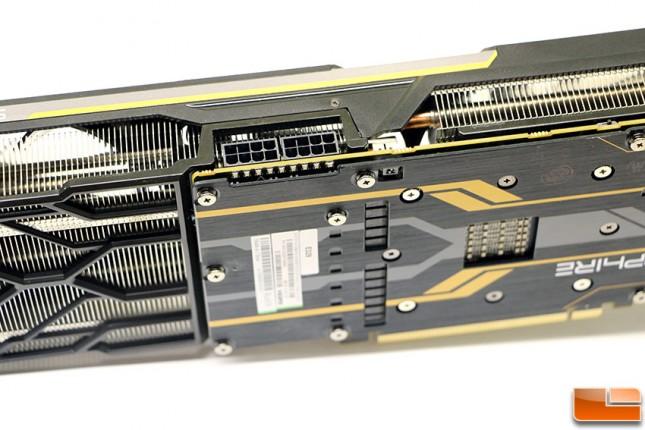 Sapphire Tri-X Radeon R9 Fury Video Card Power Connectors