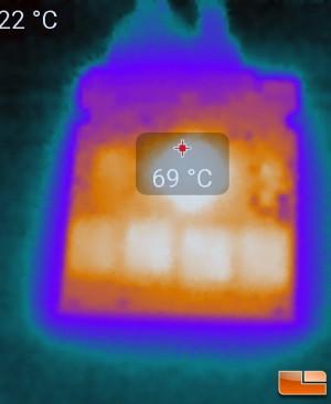 OCZ Trion 100 SSD Thermal Image
