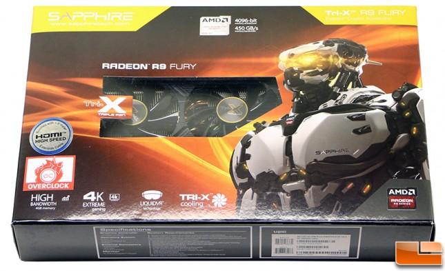 Sapphire Tri-X Radeon R9 Fury Video Card